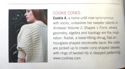 Vogue Knitting Radial